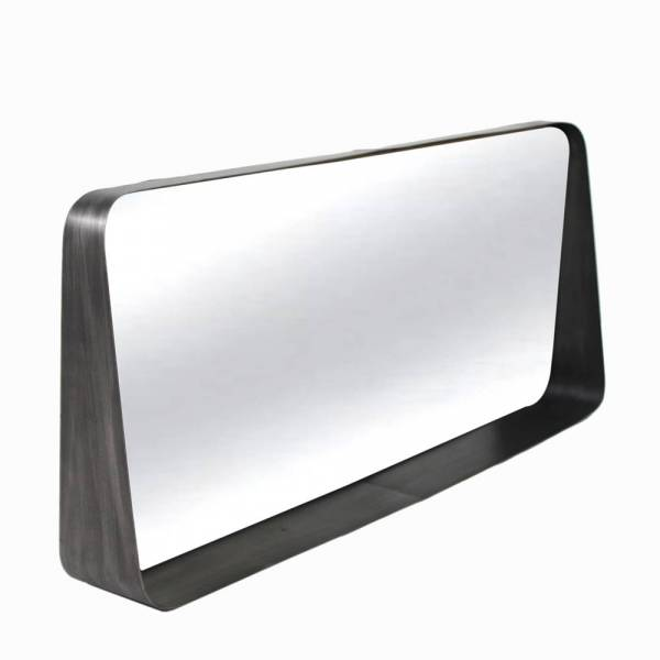 Miroir horizontal bloom m tal naturel redcartel for Miroir horizontal
