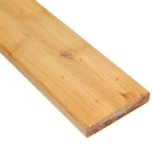 Lame de terrasse bois Red Cedar