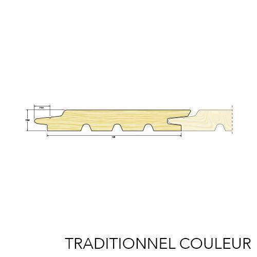 Bardage couleur traditionnel Epicea