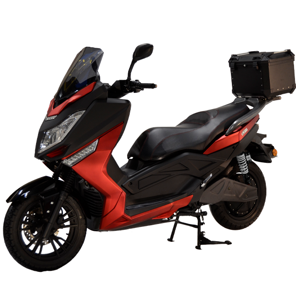 Image PinkFly 10 kW batterie fixe Lithium 6,8 kWh, chargeur embarqué 72V20A Rouge + Support et TopCase Alu offert jusqu'au 30/06/2021 (dans la limite des stocks disponibles)