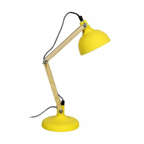 lampe de table dexter mini jaune mat redcartel. Black Bedroom Furniture Sets. Home Design Ideas