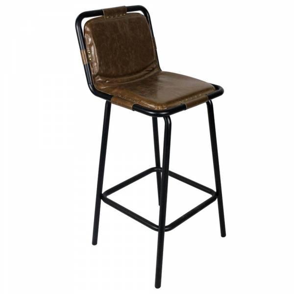 chaise de bar stingray m tal naturel redcartel. Black Bedroom Furniture Sets. Home Design Ideas